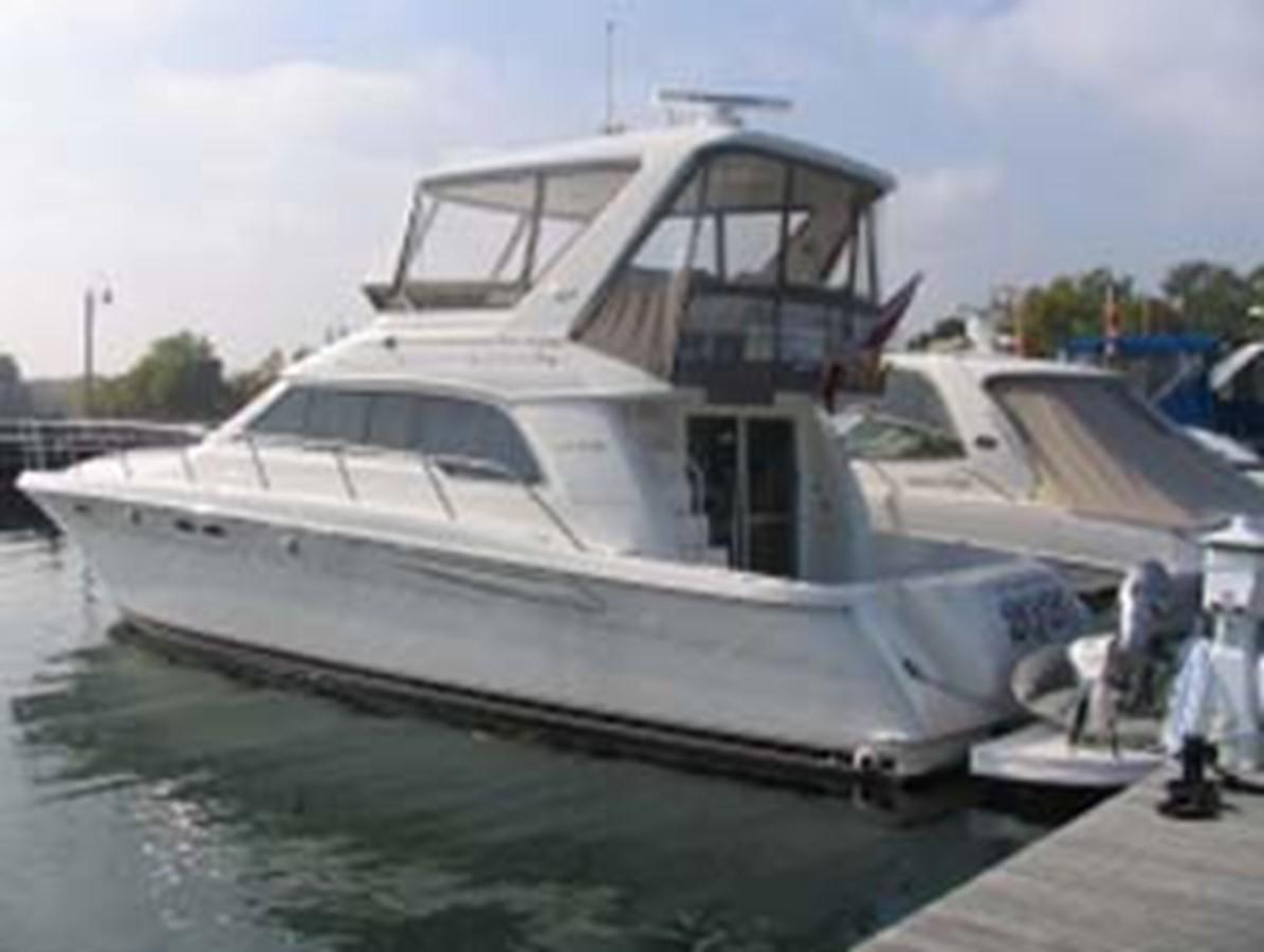 1998 SEA RAY 480 Sedan Bridge Cruiser 50145