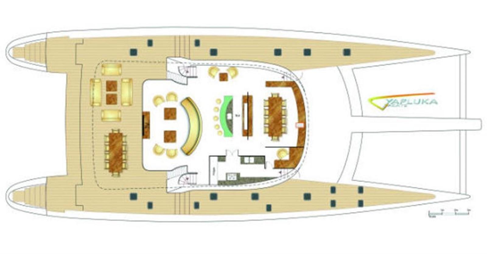 Main Deck 2008 YAPLUKA Yapluka Catamaran 86770