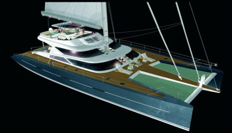 Top View 2008 YAPLUKA Yapluka Catamaran 86774