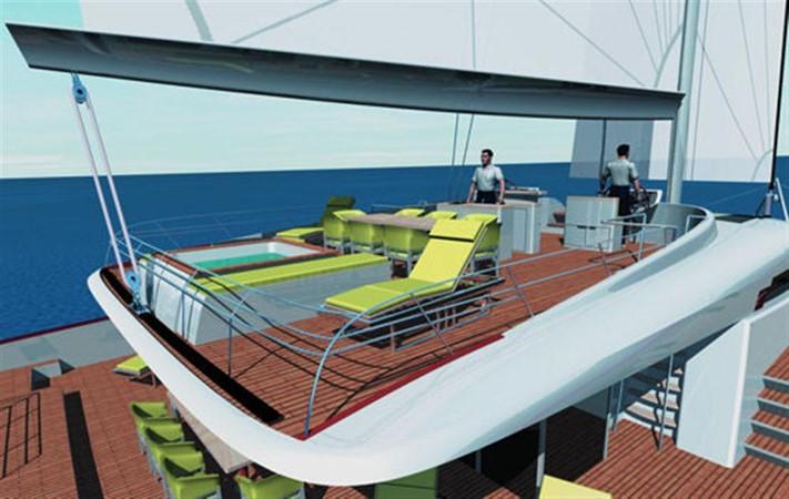 Flybridge Rendering 2008 YAPLUKA Yapluka Catamaran 86775