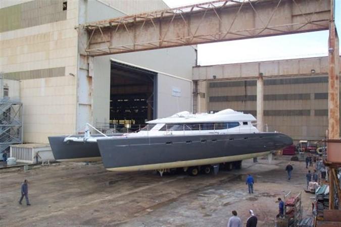 Launch of Allures 2007 BLUBAY ARGO BOATS 102 Catamaran 86926