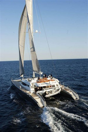 Aft View Sailing 2007 BLUBAY ARGO BOATS 102 Catamaran 86931