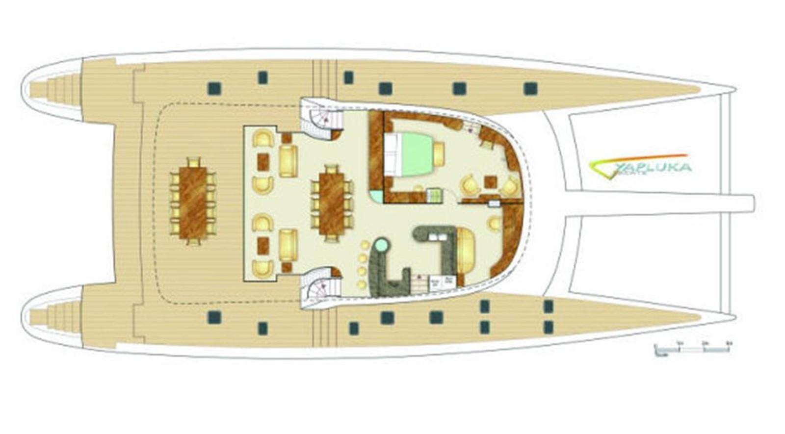 Layout 2008 YAPLUKA 100 DD Catamaran 86942