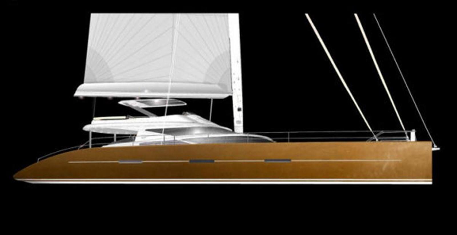 Side View 2008 YAPLUKA 100 DD Catamaran 86943