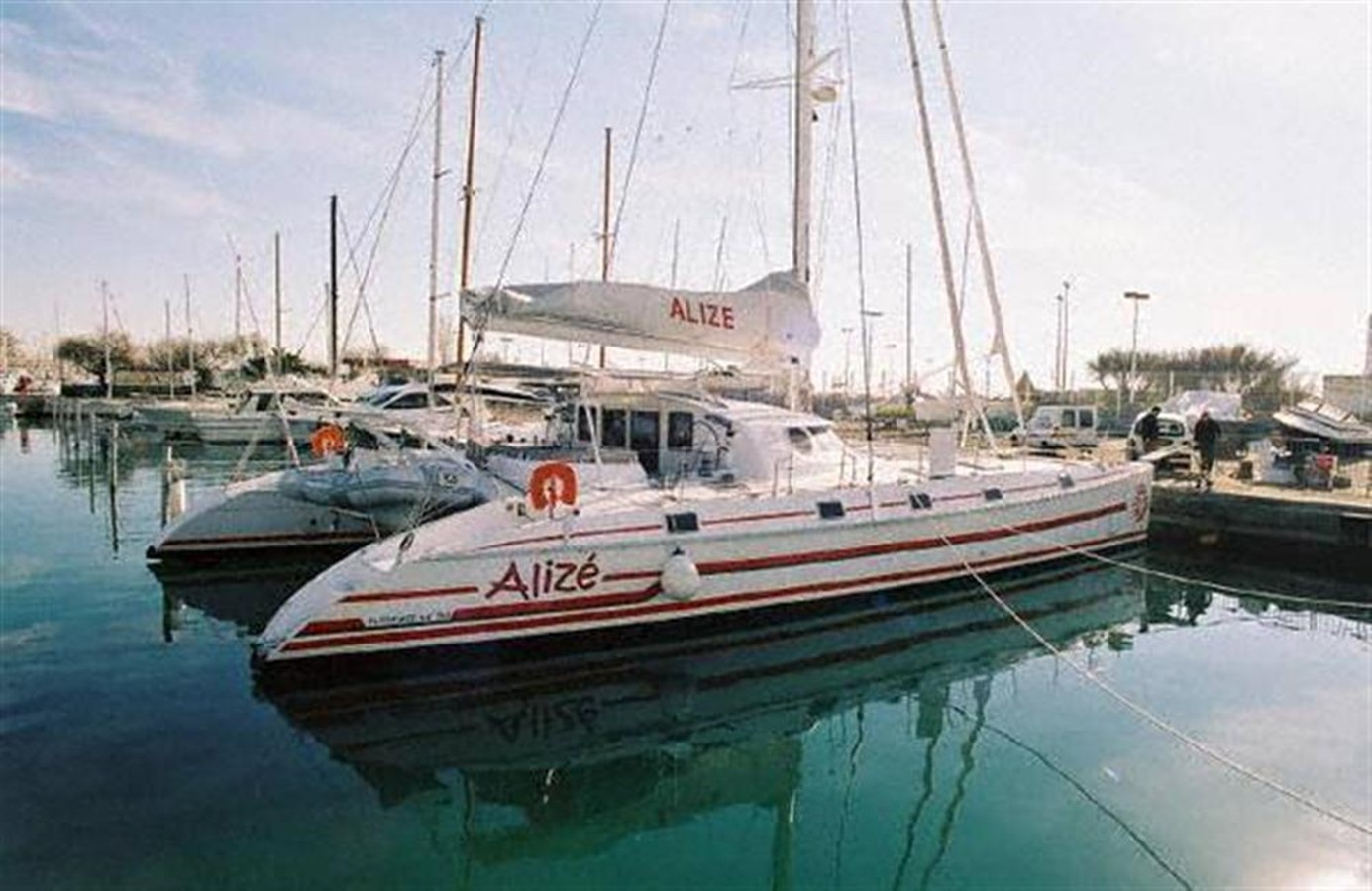 At the Dock 2002 OUTREMER 64 Catamaran 87032