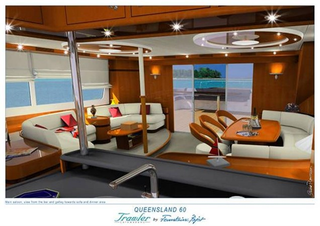 Saloon 2008 FOUNTAINE PAJOT Queensland Catamaran 87090