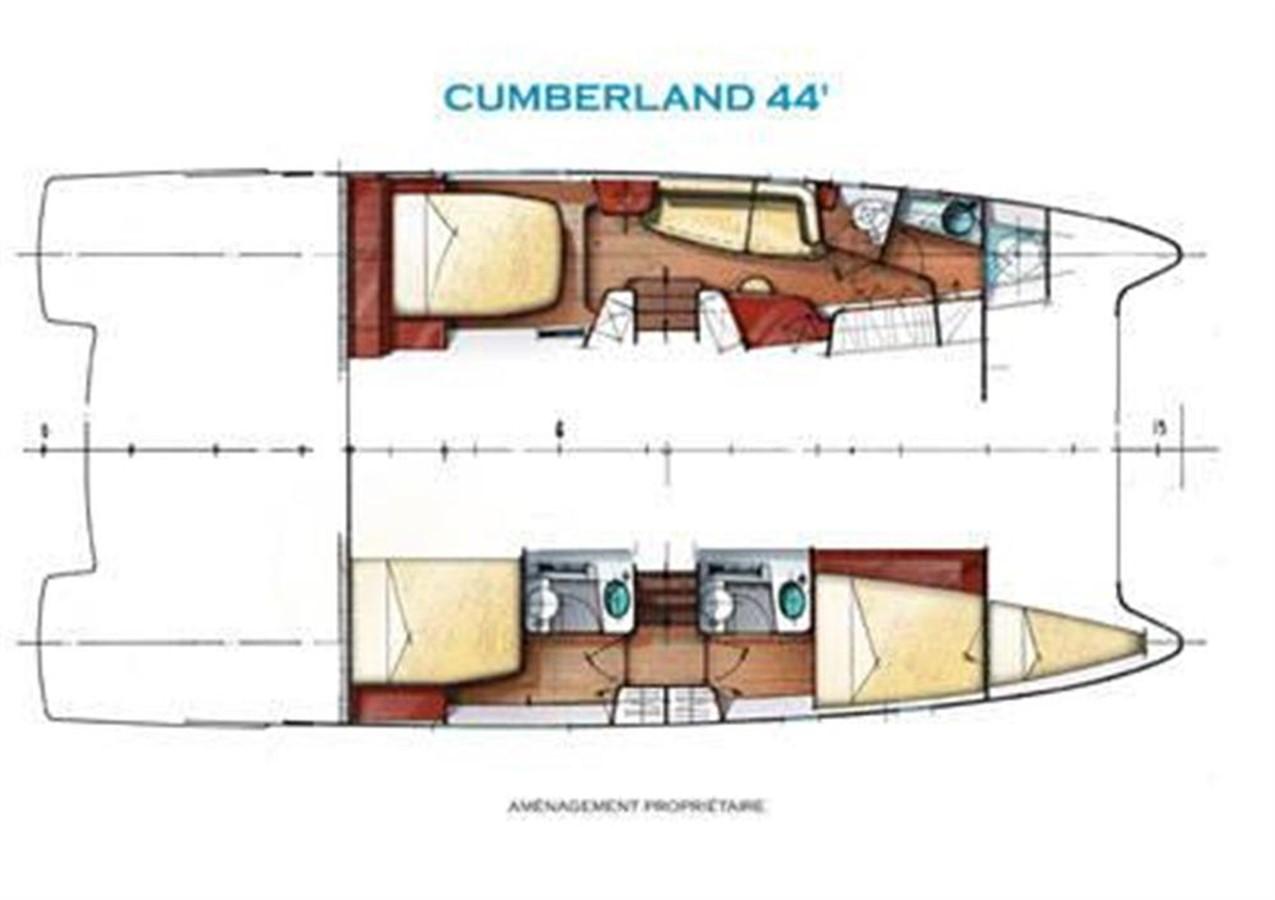 Owner's Version 2007 FOUNTAINE PAJOT Cumberland Catamaran 87154