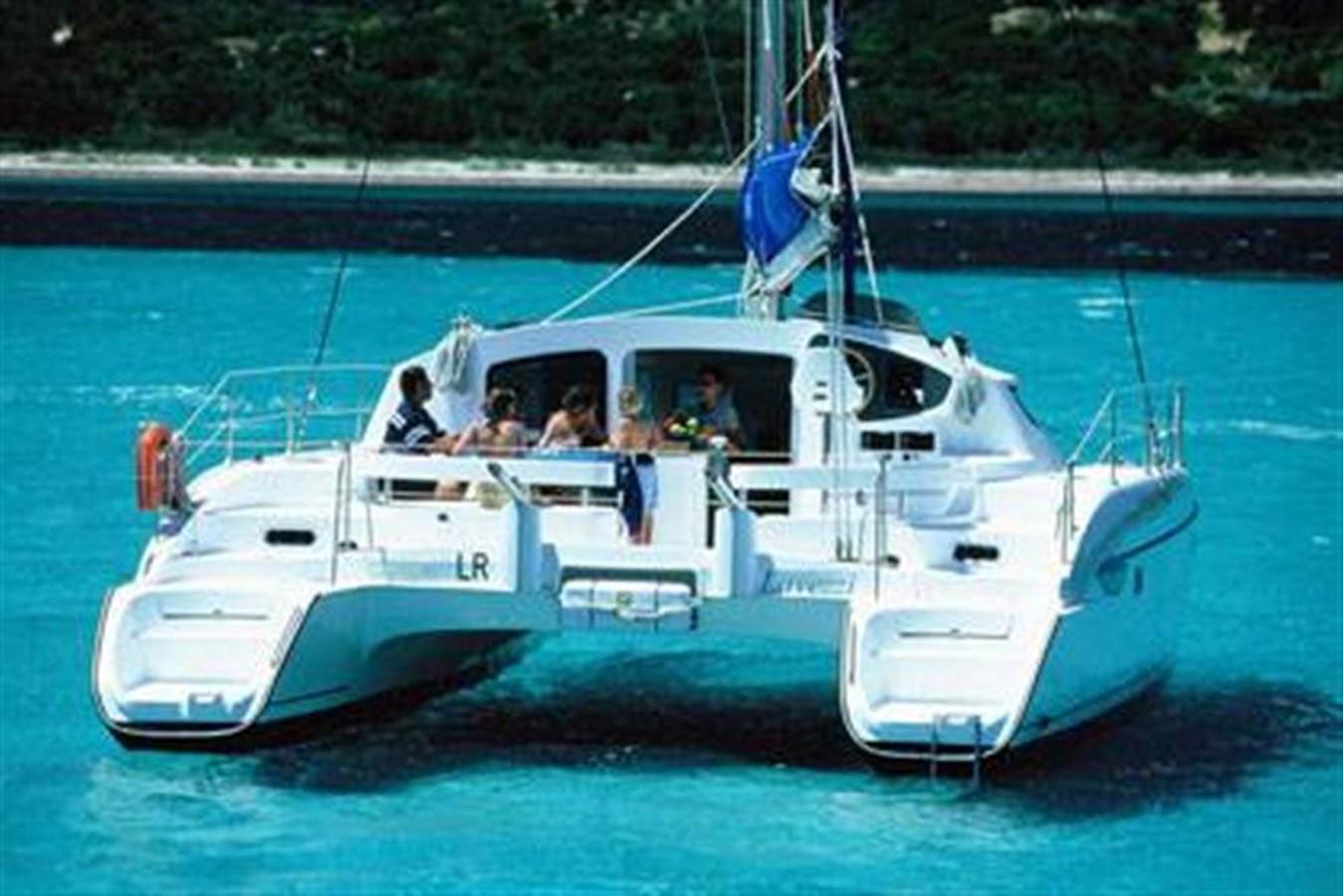 At Anchor 2007 FOUNTAINE PAJOT Lavezzi Cruising Sailboat 87202