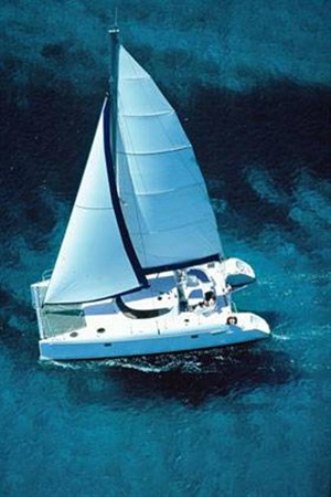 Aerial View 2007 FOUNTAINE PAJOT Lavezzi Cruising Sailboat 87201