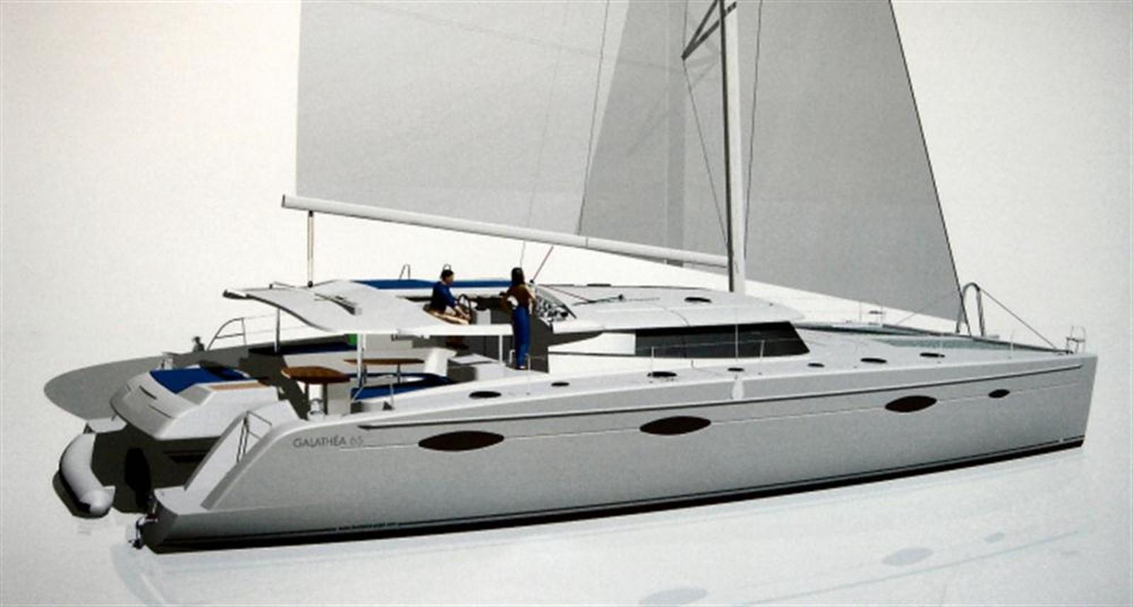 Galathea 65 profile 2008 FOUNTAINE PAJOT  Catamaran 87833