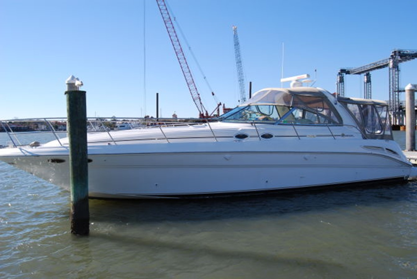 2000 SEA RAY 410 Sundancer Cruiser 38659