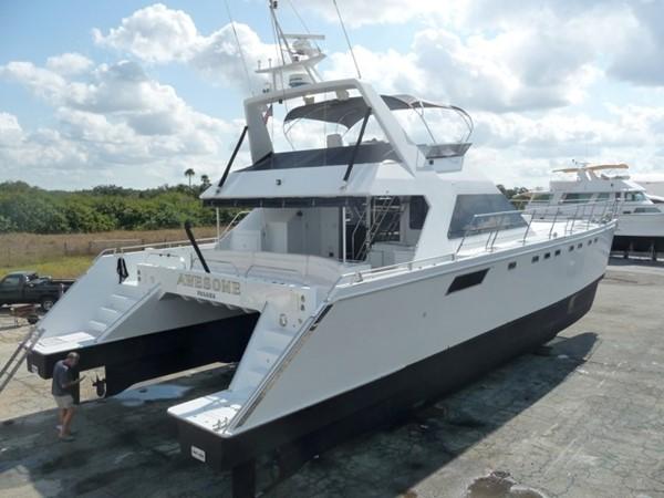 1993 AWESOME Power Cat Catamaran 36784