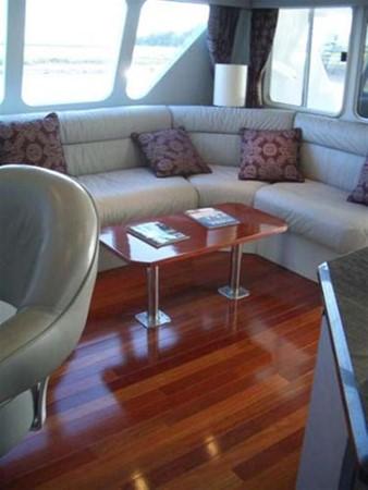 Brazilian Cherry Flooring 1993 AWESOME Power Cat Catamaran 89813