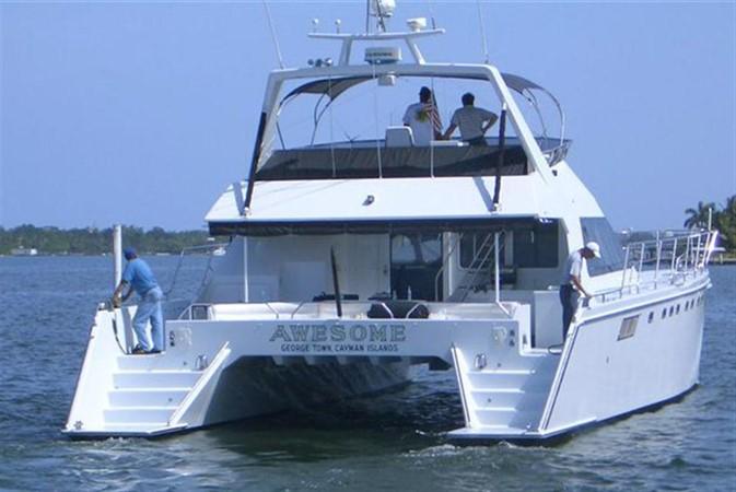 1993 AWESOME Power Cat Catamaran 89816