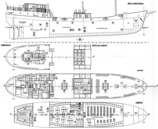 1943 CHANTIER NAVAL DE CAEN 136 ft Three Masts Schooner Tallship 92991