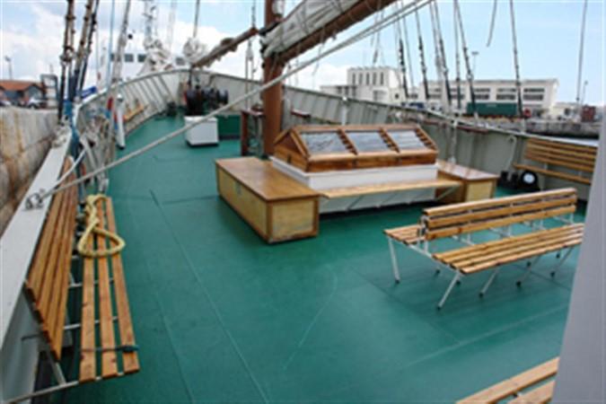 1943 CHANTIER NAVAL DE CAEN 136 ft Three Masts Schooner Tallship 92995