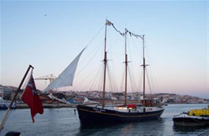 1943 CHANTIER NAVAL DE CAEN 136 ft Three Masts Schooner Tallship 93001
