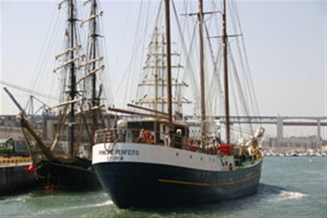 1943 CHANTIER NAVAL DE CAEN 136 ft Three Masts Schooner Tallship 93002
