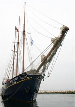 1943 CHANTIER NAVAL DE CAEN 136 ft Three Masts Schooner Tallship 93004