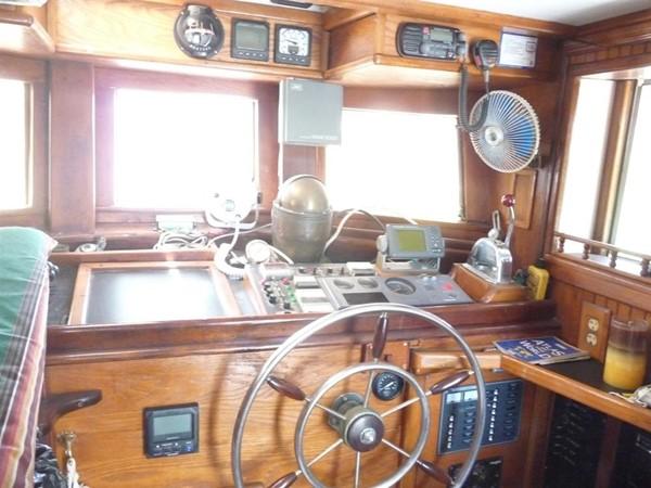 1932 CUSTOM Swedish Pilothouse Motor Sailor Cutter Motorsailor 93505