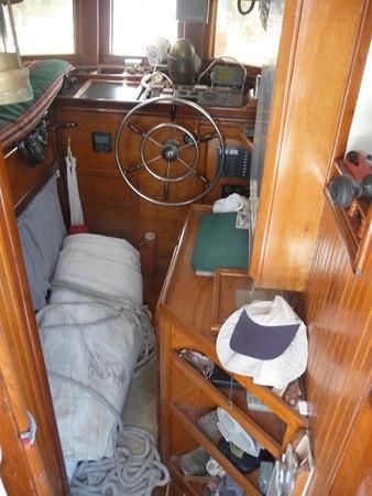 1932 CUSTOM Swedish Pilothouse Motor Sailor Cutter Motorsailor 93507