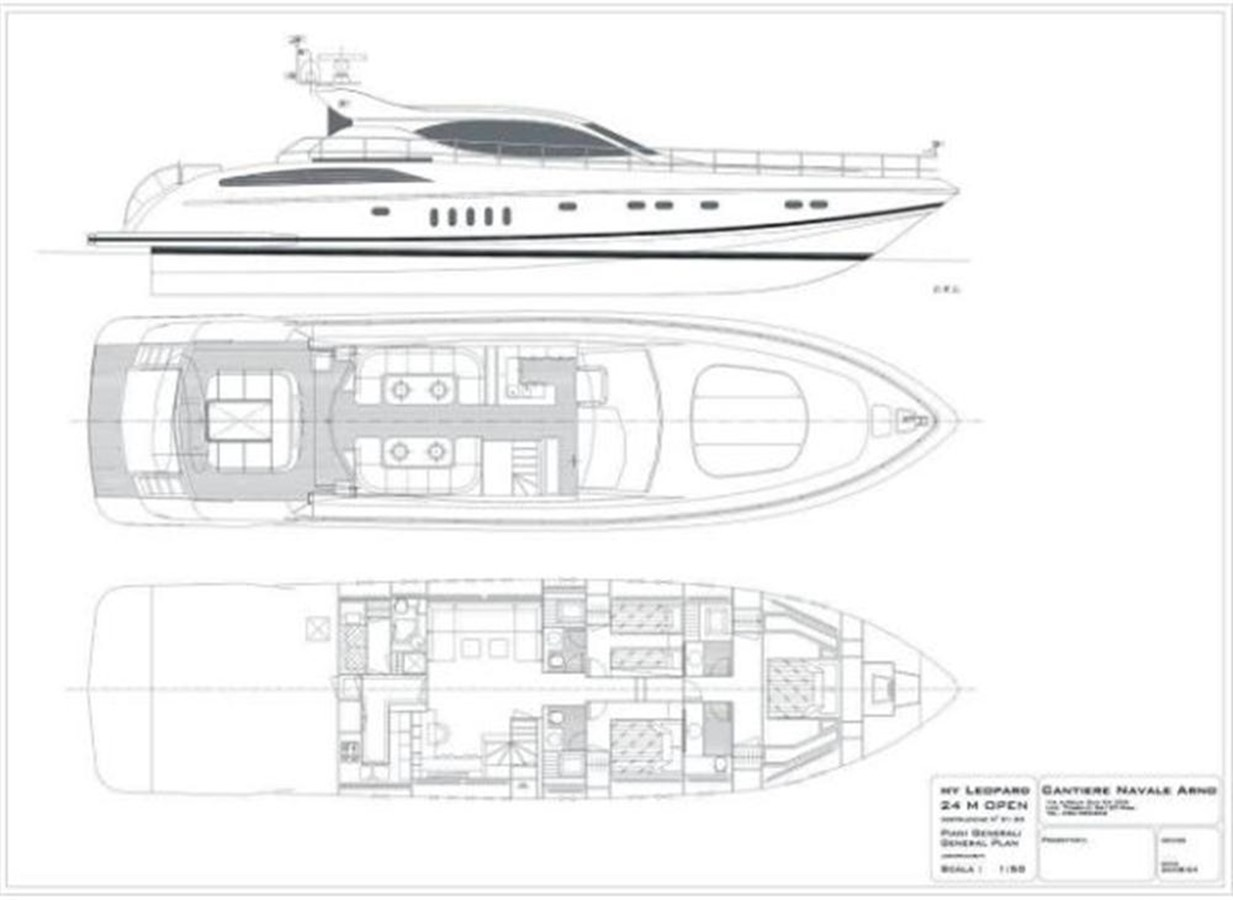 layout 2005 ARNO Leopard 24 M Cruiser 100843