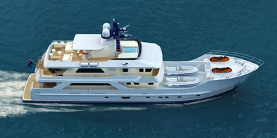 Inace Yachts 126' Aft House Explorer Yacht 89129