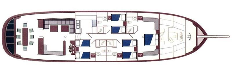 2003 BODRUM Custom built motor sailor Motorsailor 116457
