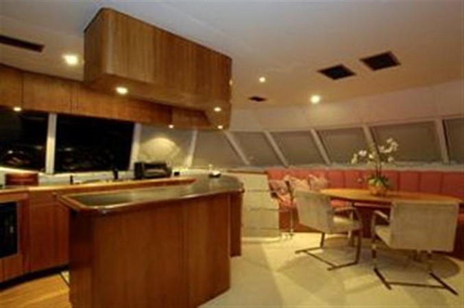 GALLEY 1999 AWESOME Pilothouse Sky Lounge Catamaran 123091