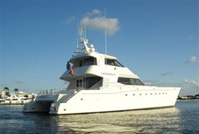 1999 AWESOME Pilothouse Sky Lounge Catamaran 123098