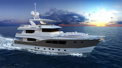 All Ocean Yachts 90' Steel 97114
