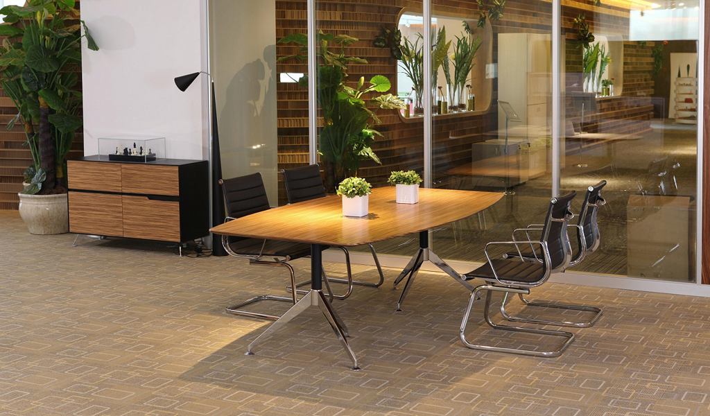 Sharp 8 Seater Conference Table & Chairs : BCCSH-22