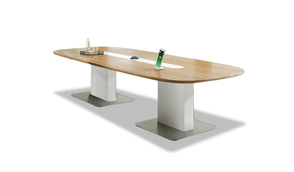 16 Seat Conference Table With Wire Management : BCC-28-4.2