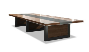 'Lexon' 14 Seat Conference Table In Wood