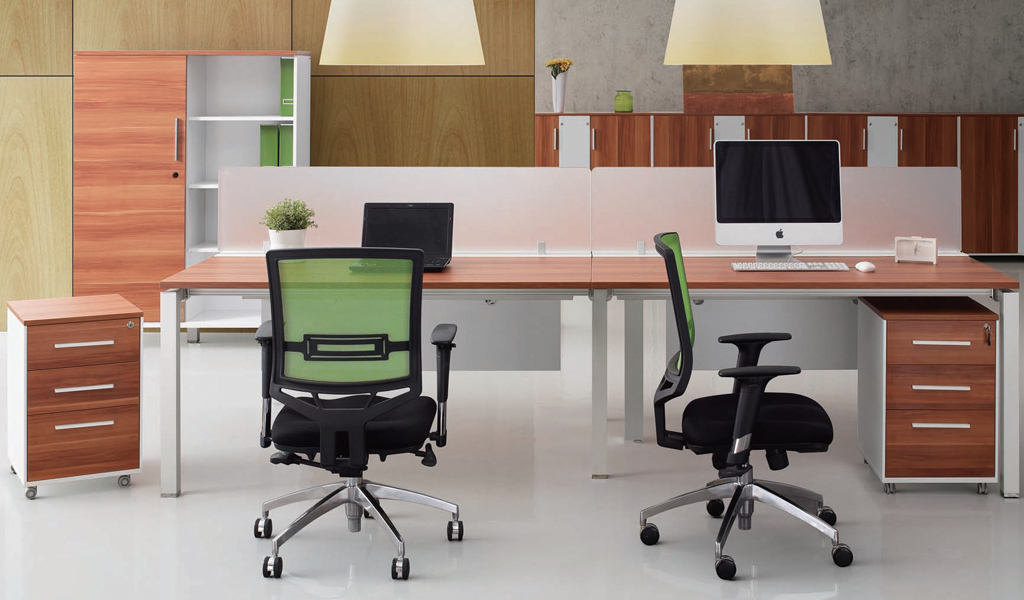 Modular Office Furniture System 'E-Half - Parallel'