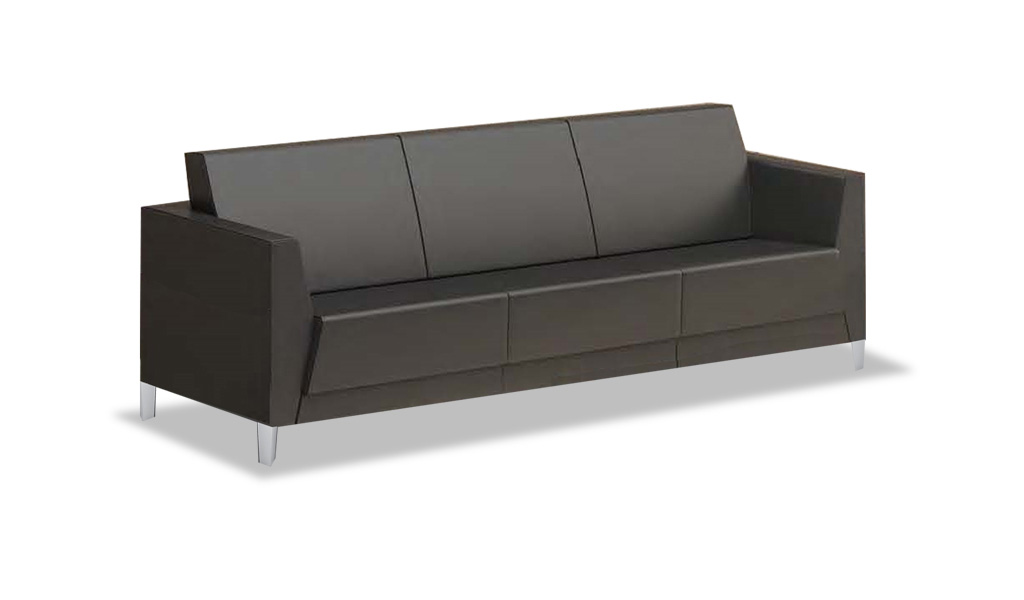 Shop Three Seater Office Sofa In Pu Leather Online Boss 39 S Cabin