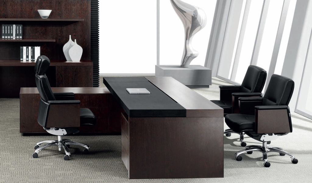 Boss 39 s cabin office tables furniture shop in chennai for Office cabin design