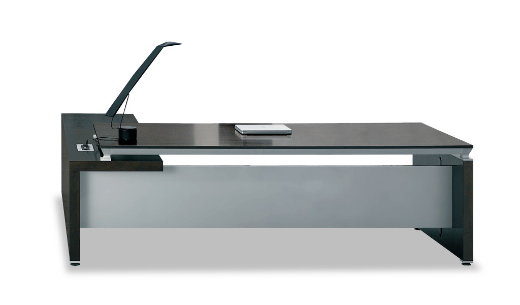 side tables for office. u0027easyu0027 75 ft office table with motorized wirebox side tables for