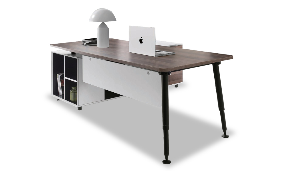 anyways office table with side cabinet cabin office furniture