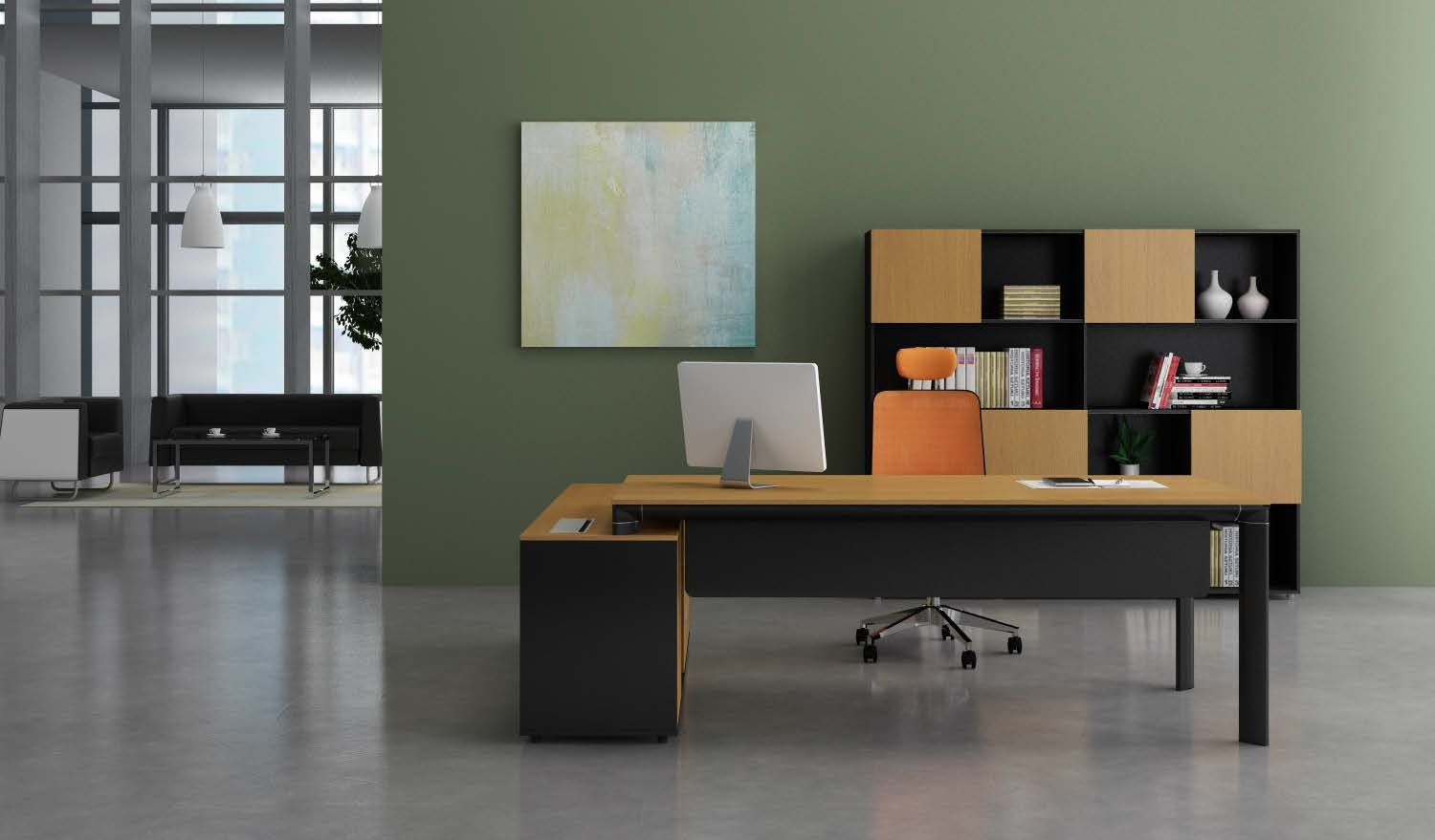 tables for office. u0027becku0027 6 ft office table with side credenza tables for g