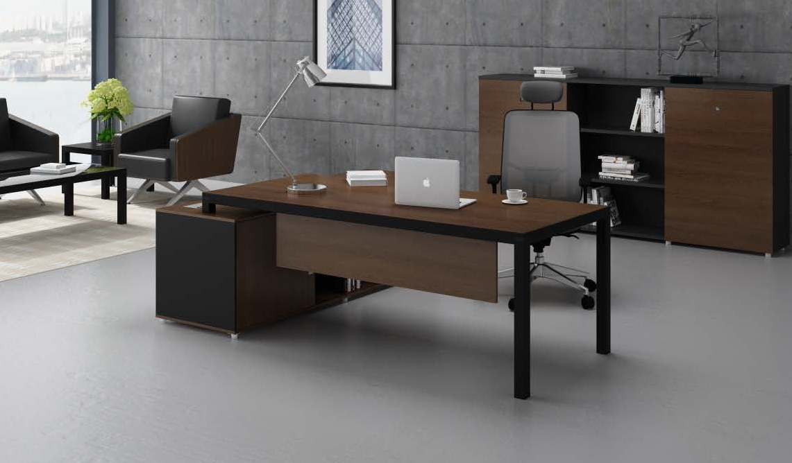 tables for office. u0027berlinu0027 6 ft office table with side cabinet tables for t