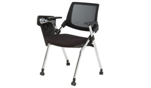 'Volt' Training Chair With Writing Pad & Wheels