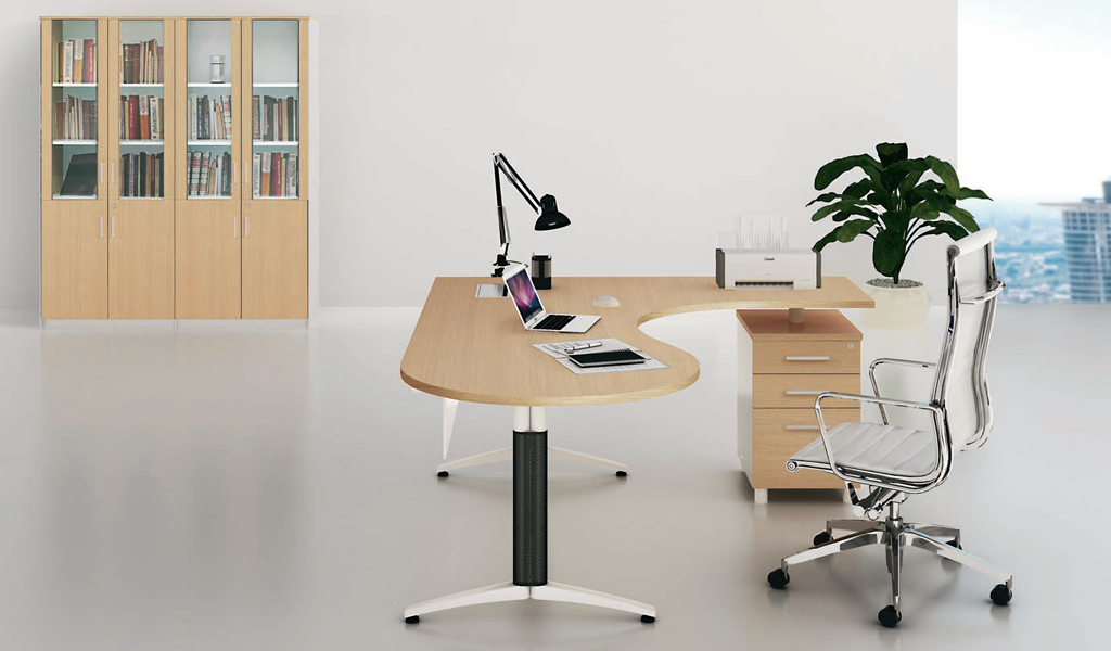 5 quick tips to select l shaped office furniture for Office design considerations