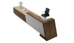 'iKey' 16 Ft. Reception Table For Large Lobbies