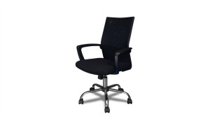 'Focus' Office Chair With Mesh Back