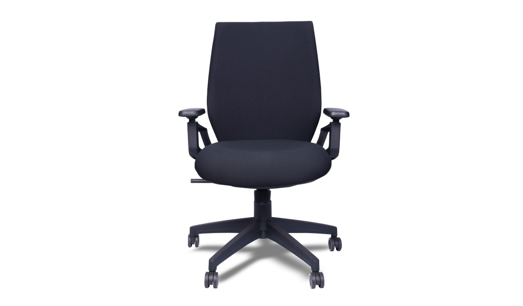 'Delta' Office Chair With Mesh Back