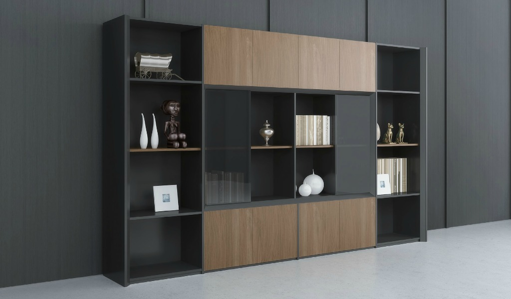 'Mary' Office Cabinet & Book Case
