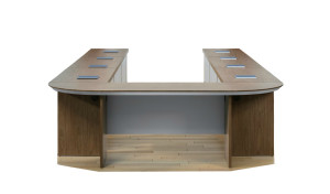'Sirius' U Shaped 16 Seat Conf. Table With Wire Management