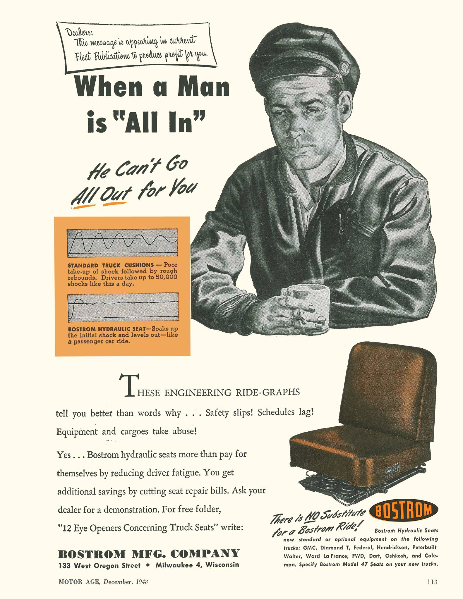 History | Bostrom Seating