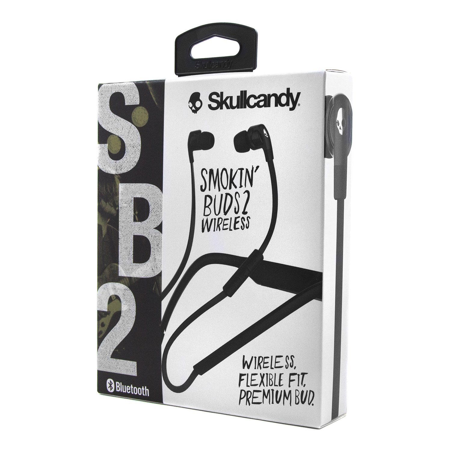 Skullcandy-Smokin-039-Buds-2-in-Ear-Bluetooth-Wireless-Earbuds-with-Microphone-New thumbnail 19